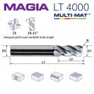 LAMINA MAGIA Pinnfräs Z4 LONG Ø12 mm R0.5